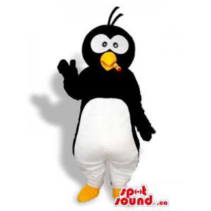 Preto e Branco Pinguim...