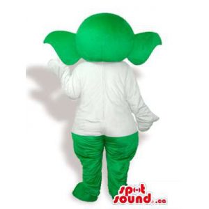 Customised Green Plush...