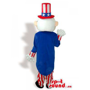 Uncle Sam Plush Mascot...