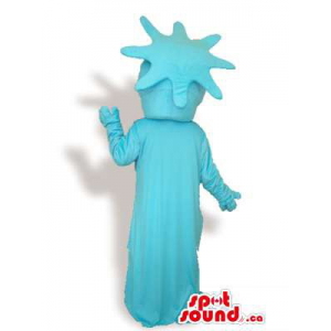 Cool Blue New York Statue...