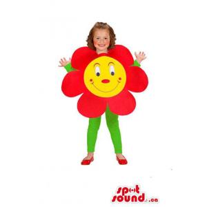 Peculiar Cute Red Flower...