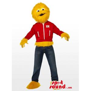 Yellow Monster Character...