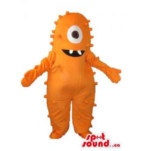 Orange One-Eyed Monster...