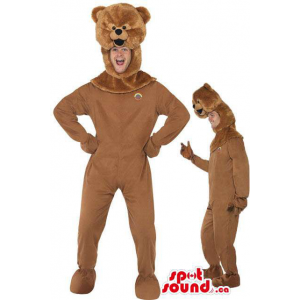 Cute All Brown Teddy Bear...
