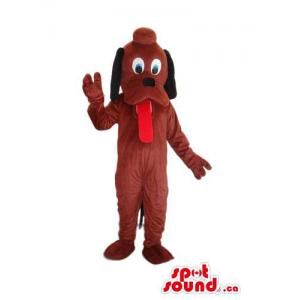 Brown Pluto It Dog Animal...