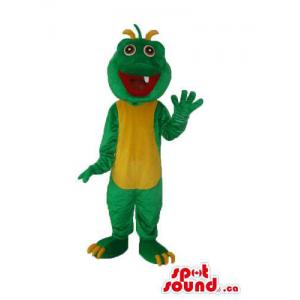 Green Monster Plush Mascot...