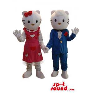 Kitty Cat Casal Plush...