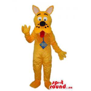 Yellow Scooby-Doo Dog...