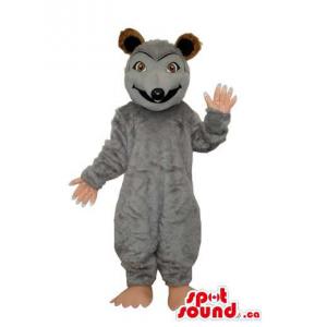 Customised Grey Rat Animal...
