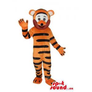 Cute Orange Tiger Plush...