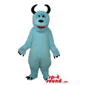 Light Blue Monster Plush...