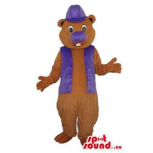Brown Chipmunk Plush Mascot...