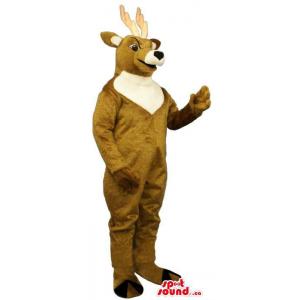 Brown Angry Deer Plush...