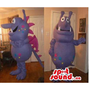 Peculiar Purple Monster...