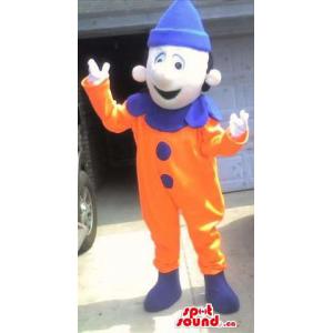 Orange And Blue Clown Clown...
