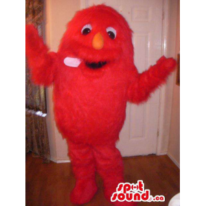 Woolly Red Monster Plush...