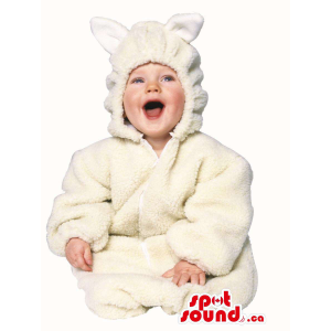Cute Halloween White Mouse...