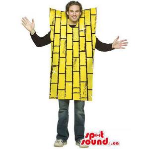 Yellow Brick Wall Adult...
