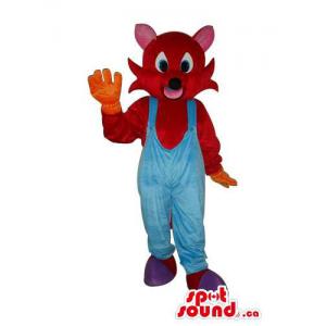 Brown Mouse Animal Plush...