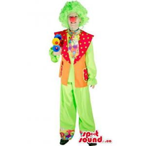 Clown Adult Size Costume...