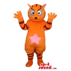 Orange Fairy-Tale Tiger...