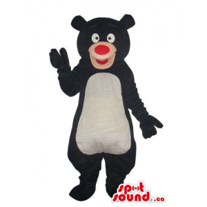 Cartoon Black Bear Plush...