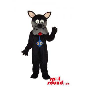 Black Scooby-Doo Dog...