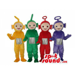 Five Well-Known Teletubbies...