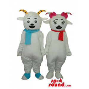 Boy And Girl Goat Couple...
