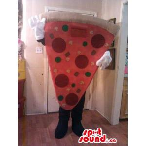 Large Pepperoni Pizza Slice...