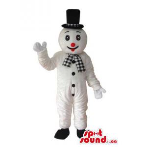 Snowman Plush Mascot...