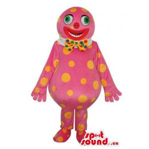Pink Clown Creature Plush...