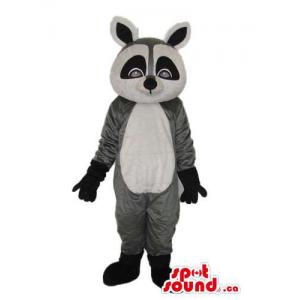 Cute Grey And Black Raccoon...