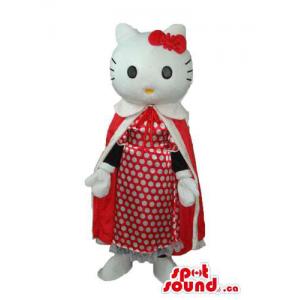 Kitty Cat mascote dos...