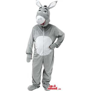 Grey Donkey Adult Size...