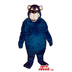 Customised Blue Large Bear...