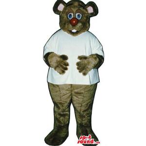 Brown Bear Plush Mascot...