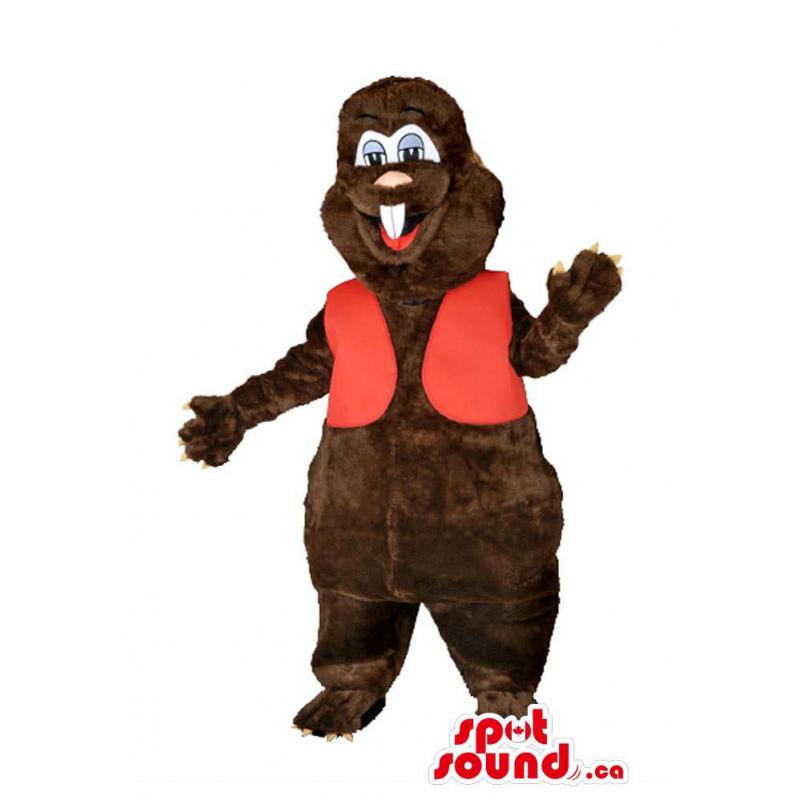 Personalizado Brown Beaver...