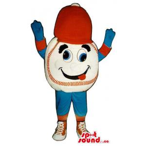 Dizzy Baseball Mascot...