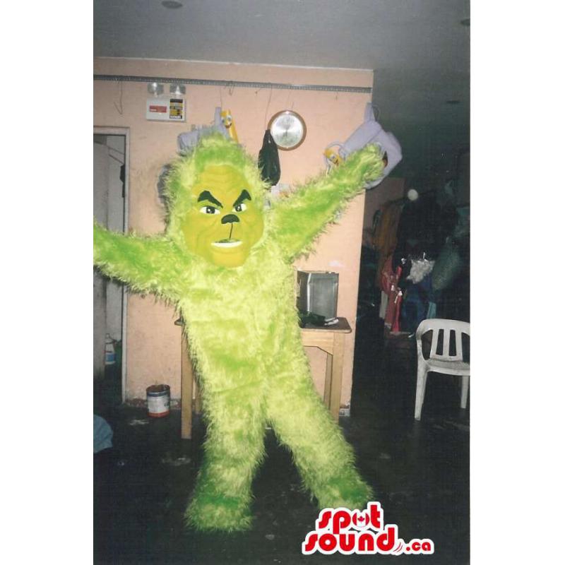 Mascota Monstruo Amarillo...