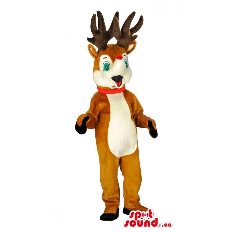 Rudolph a rena da mascote...