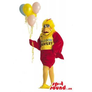 Chicken Plush Mascot...
