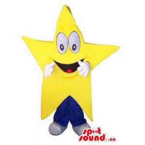 Peculiar Large Yellow Star...