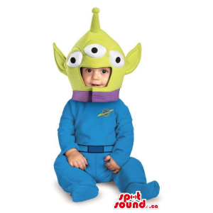 Peculiar Toy Story Alien...