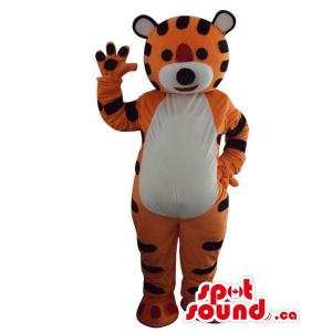 Fairy-Tale Orange Tiger...