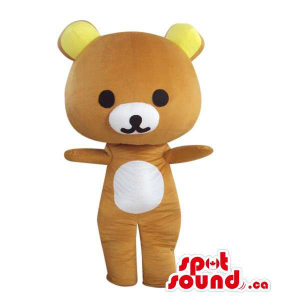 Cartoon Brown Teddy Bear...