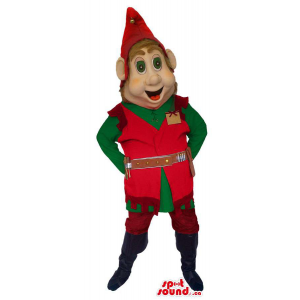 Dwarf Mascot With Dressed...