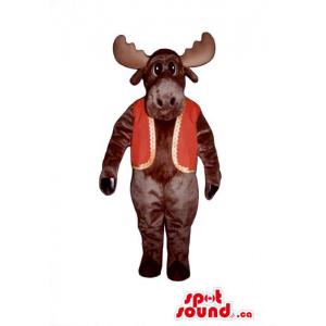 Brown Deer Animal Plush...