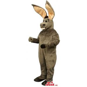 Grey Donkey Plush Mascot...