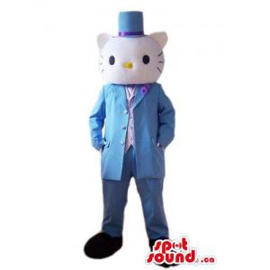 Kitty Cat Boy mascote dos...